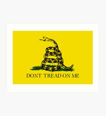 Gadsden Flag Art Print