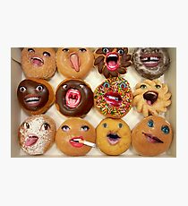 Freaking Donuts Photographic Print