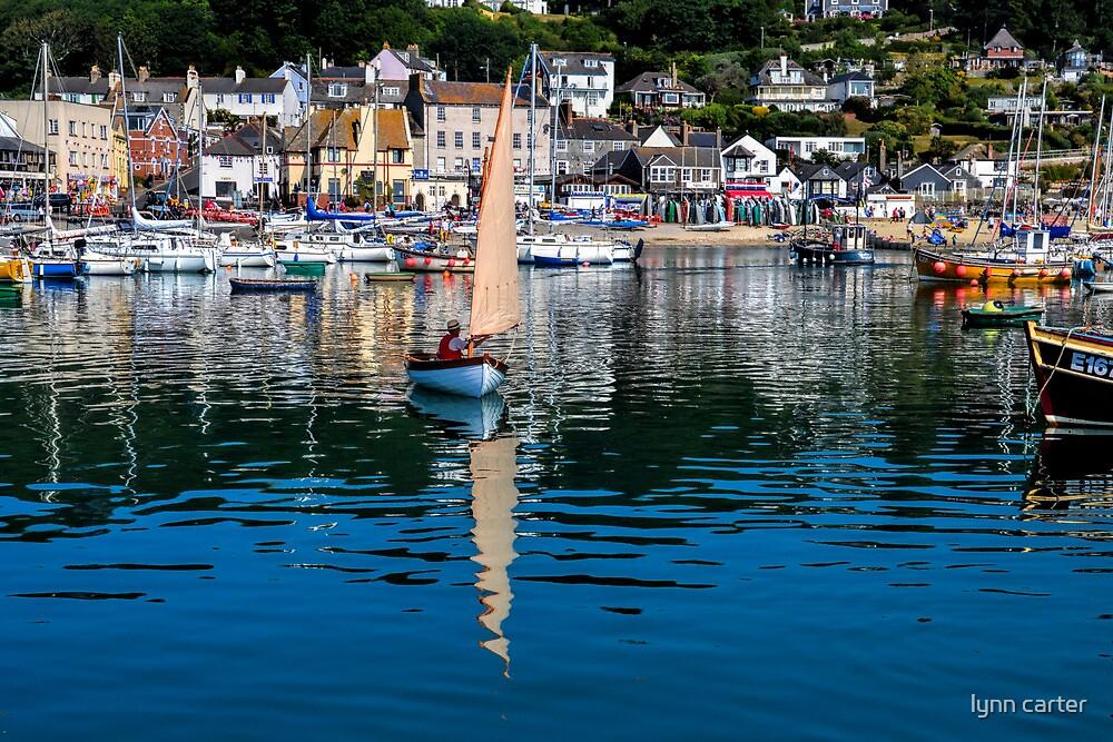 Lyme Harbour 2013-07-13..Dorset UK by lynn carter