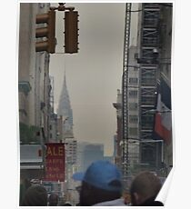 NYC Chrysler Building Sneak Peek Poster