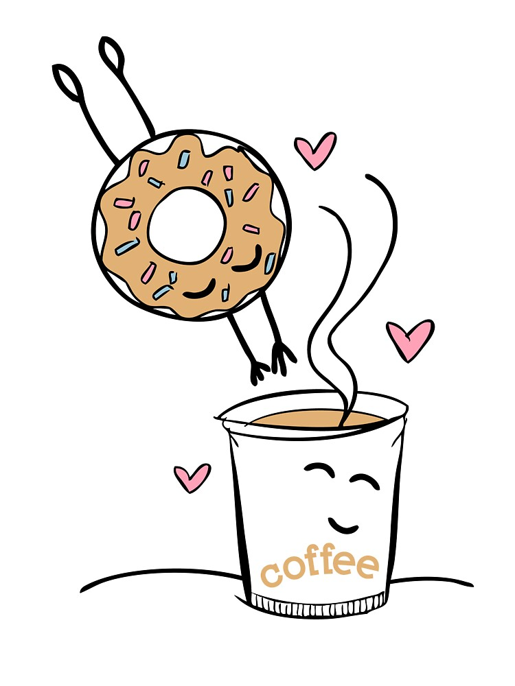 <3 DONUT <3 COFFEE <3 DONUT <3  by chantiquex