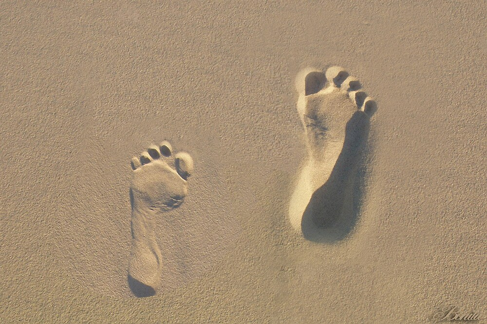 ☀ ツBONITA'S FOOTPRINTS IN THE SAND ON BEACH ONTARIO CANADA☀ ツ by ✿✿ Bonita ✿✿ ђєℓℓσ