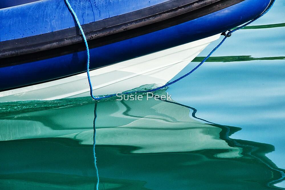 Cool Ocean Blues by Susie Peek
