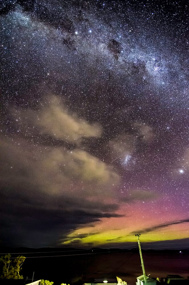Aurora over Fedrick Henery Bay  by Robert-Todd