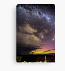 Aurora over Fedrick Henery Bay  Canvas Print