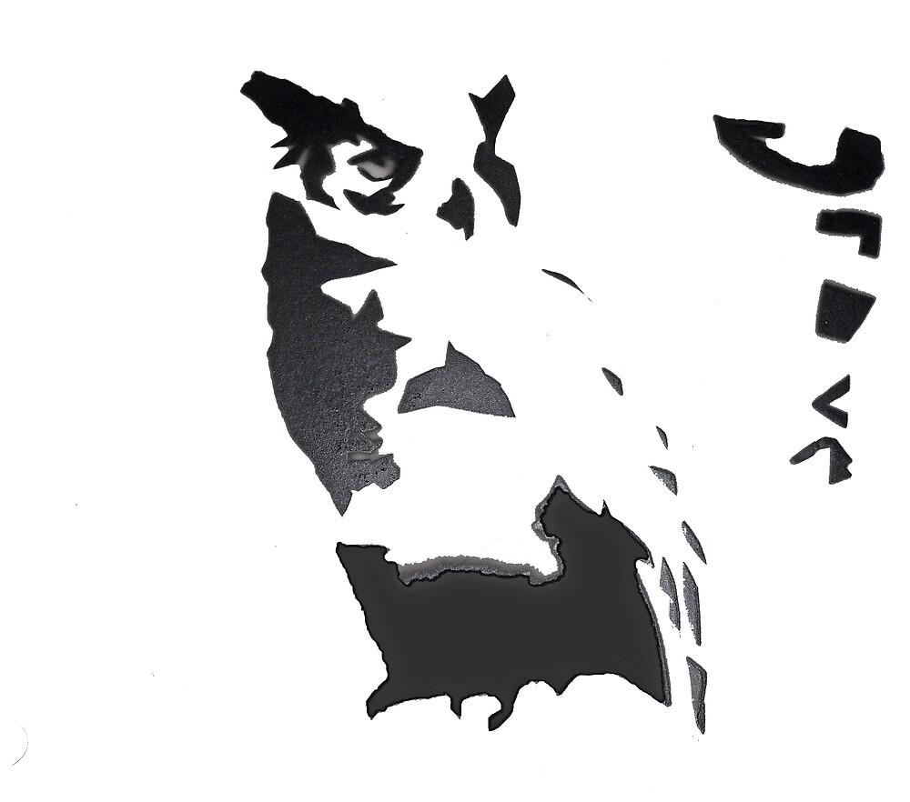 graffiti owl by jlovegrove