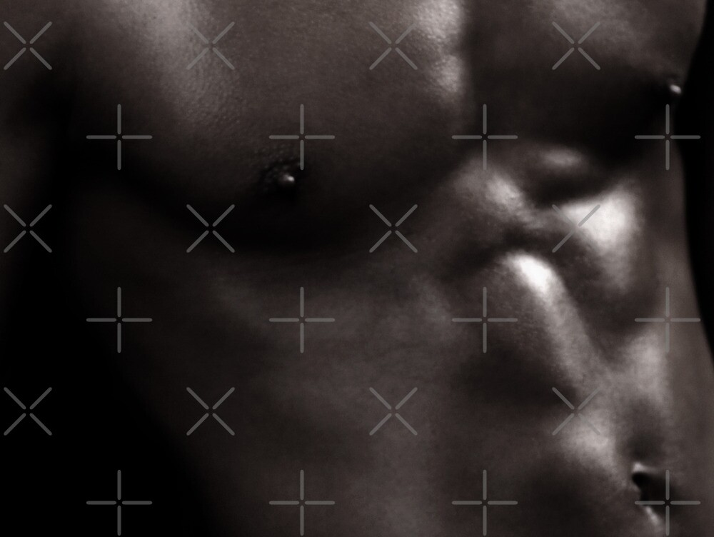 Bodyscapes - B&W Torso_KJ01 by BrianJoseph