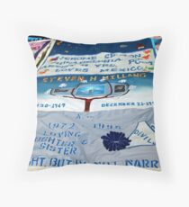 AIDS Quilt - 2 Throw Pillow