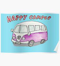 Happy Camper #2 Poster