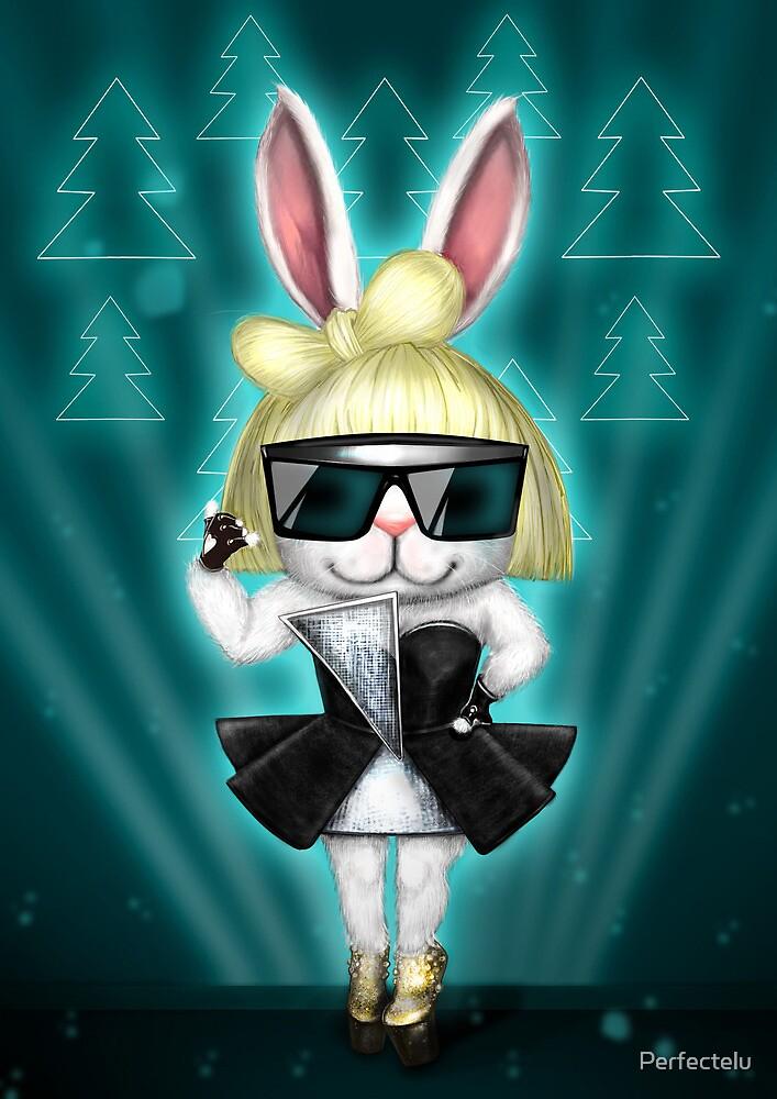 Bunny Gaga rock by Perfectelu