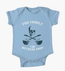 Foo Family The Netherlands One Piece - Short Sleeve