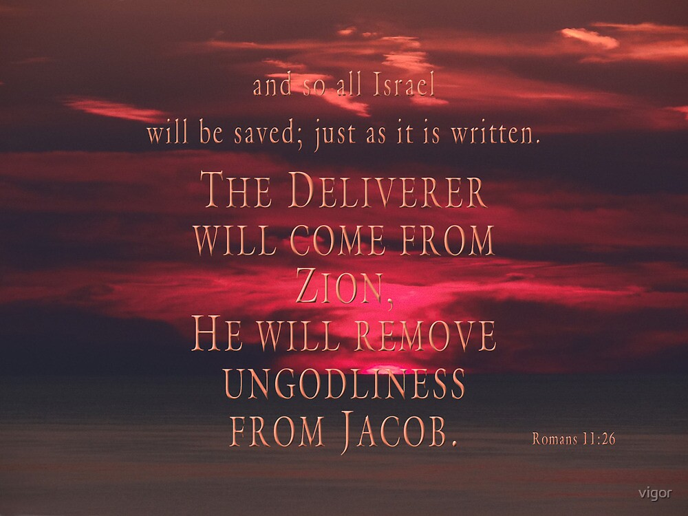 salvation-Romans 11:26 by vigor