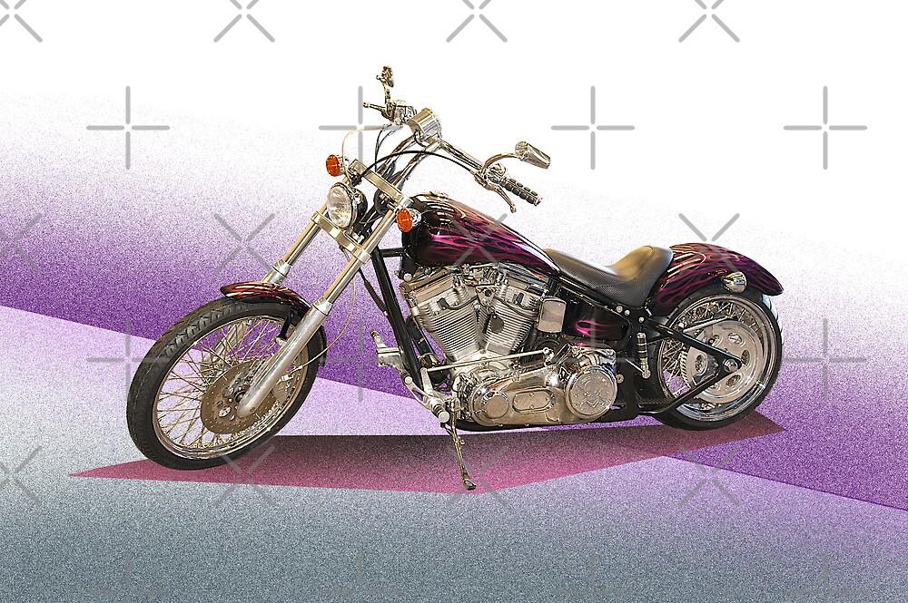 Custom Motorcycle III by DaveKoontz