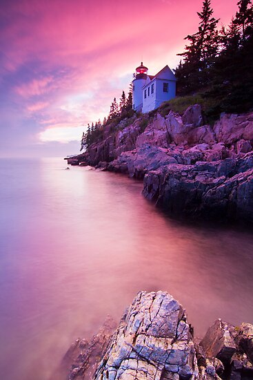 Acadia Sunset by MIRCEA COSTINA