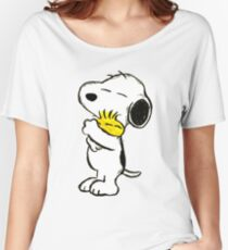 Snoopy and Woodstock Women's Relaxed Fit T-Shirt