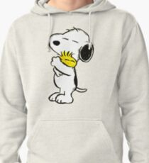 Snoopy and Woodstock Pullover Hoodie