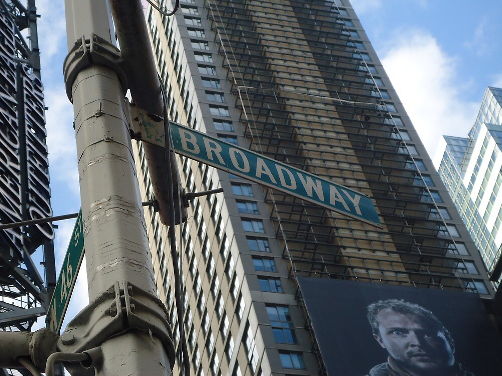 New York City - Broadway  by paddler99