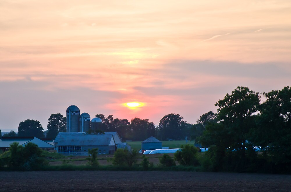 Berks County Sunset by Tom Gotzy
