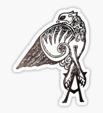 Angel's Tattoo Sticker
