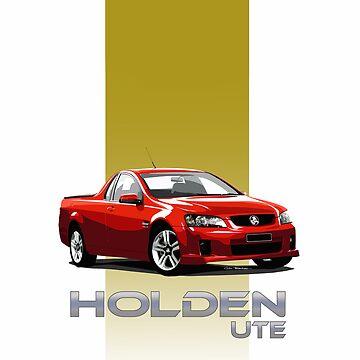HOLDEN UTE by MOTORVATESTUDIO