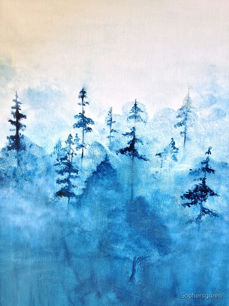 Blue Woods by Sophersgreen