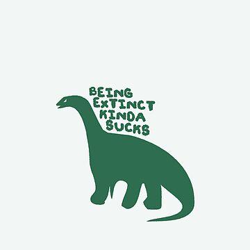 Poor Dinosaurs by udelise