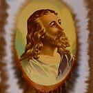 Jesus From An Estate Sale by WildestArt