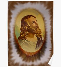 Jesus From An Estate Sale Poster