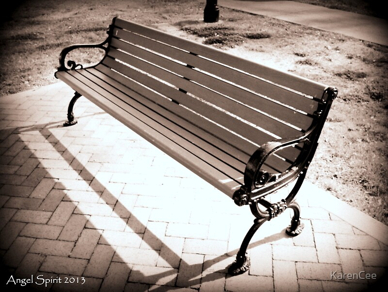 Park Bench by KarenCee