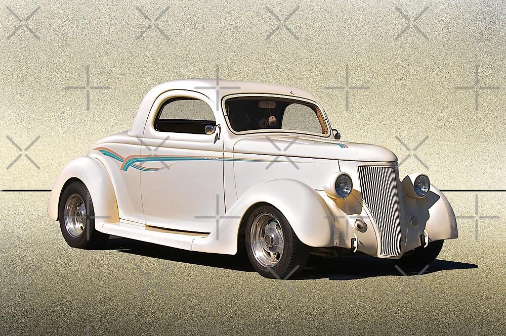 1936 Ford Coupe 'Plain Vanilla' by DaveKoontz
