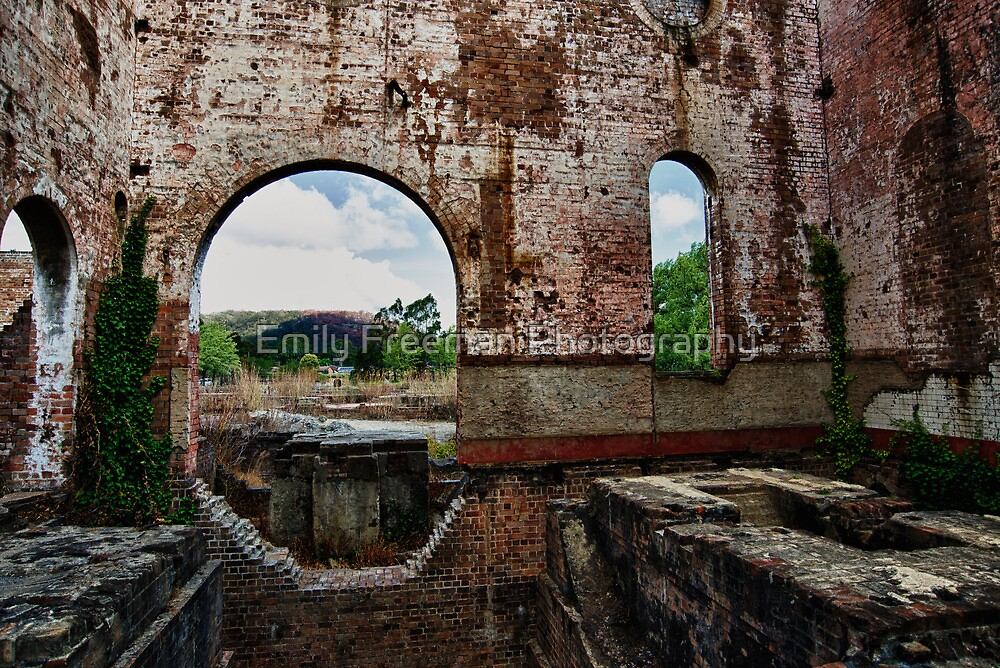 Lithgow Brick Works by Emily Freeman Photography