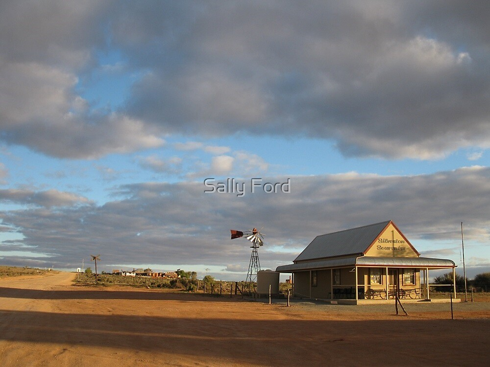 Sky in Silverton by Sally Ford
