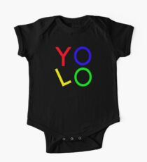 """YOLO"" You Only Live Once  One Piece - Short Sleeve"