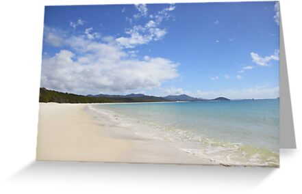 Whitehaven Beach by dolby