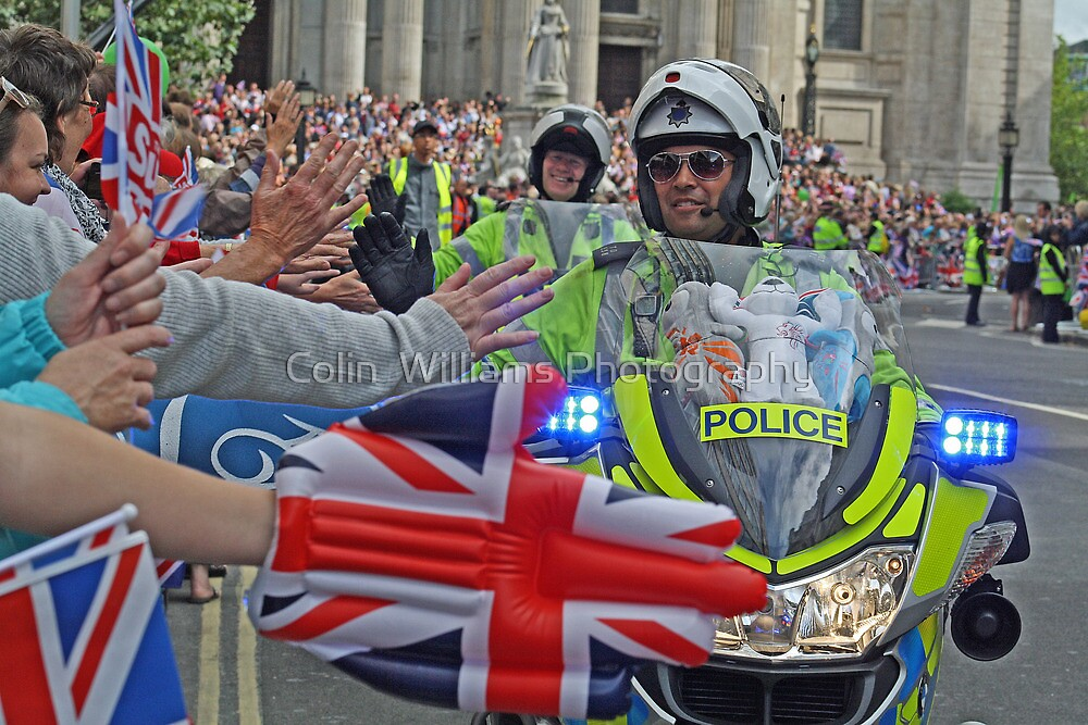The British Olympic Spirit - London 2012 by Colin  Williams Photography