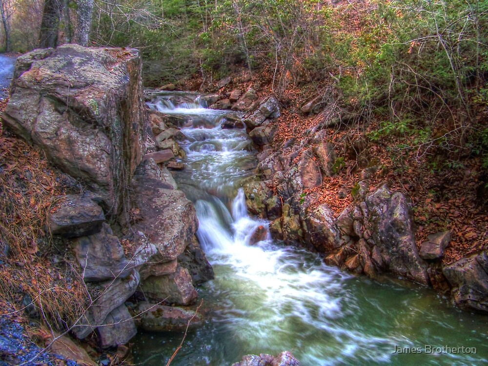 Chasing Waterfalls by James Brotherton