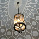 Beautiful Ornate Ceiling and Hanging Lamp, Montclair Art Museum by Jane Neill-Hancock