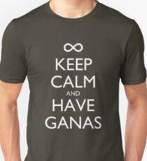Keep Calm and Have Ganas - Dark T-Shirt