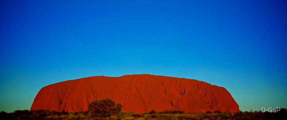Uluru Sunset by D-GaP