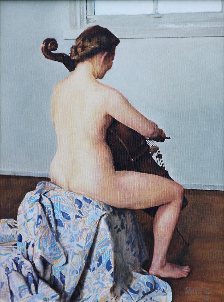 The little Cello player by SteveCriz