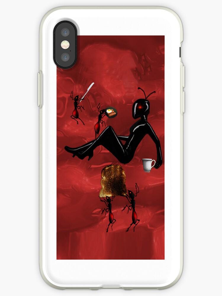 ✿♥‿♥✿WORKER ANTS PREPARING BREAKFAST FOR QUEEN ANT IPHONE CASE ✿♥‿♥✿ by ✿✿ Bonita ✿✿ ђєℓℓσ