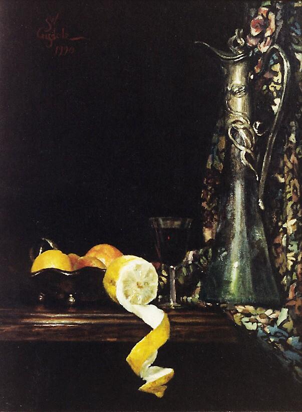 Still life with WMF claret jug by SteveCriz