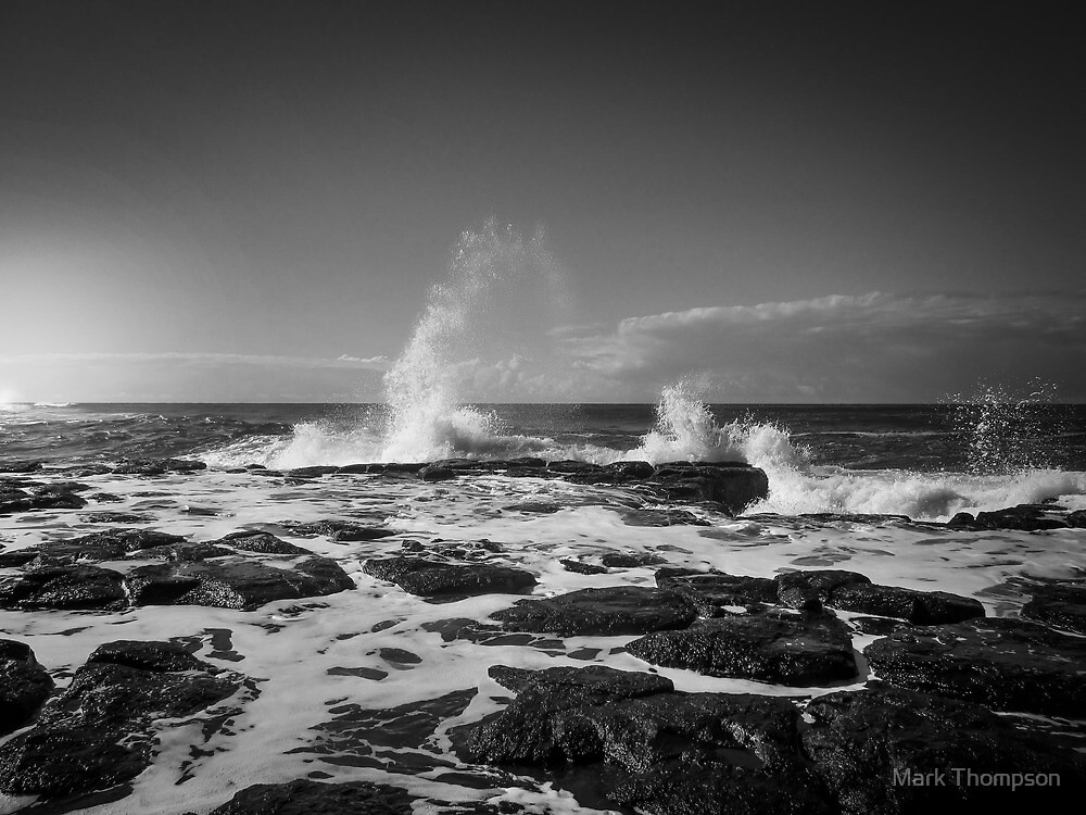 Rough water by mark thompson