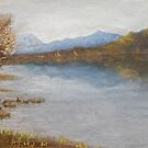 Mount Beauty in Pastel by Liz Pearson