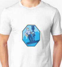 Construction Worker I-Beam Girder Ball Hook Unisex T-Shirt
