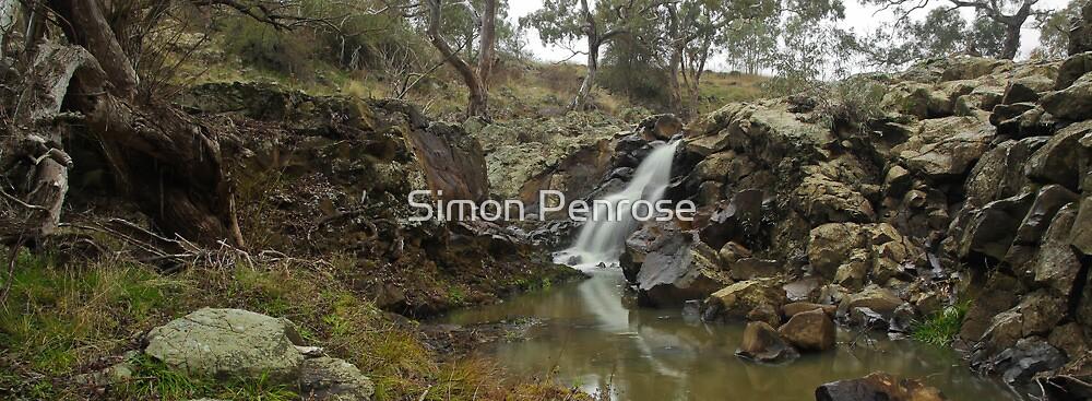Ellis Falls, from the river by Simon Penrose