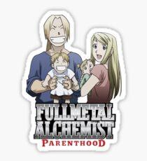 Fullmetal Alchemist Parenthood Sticker