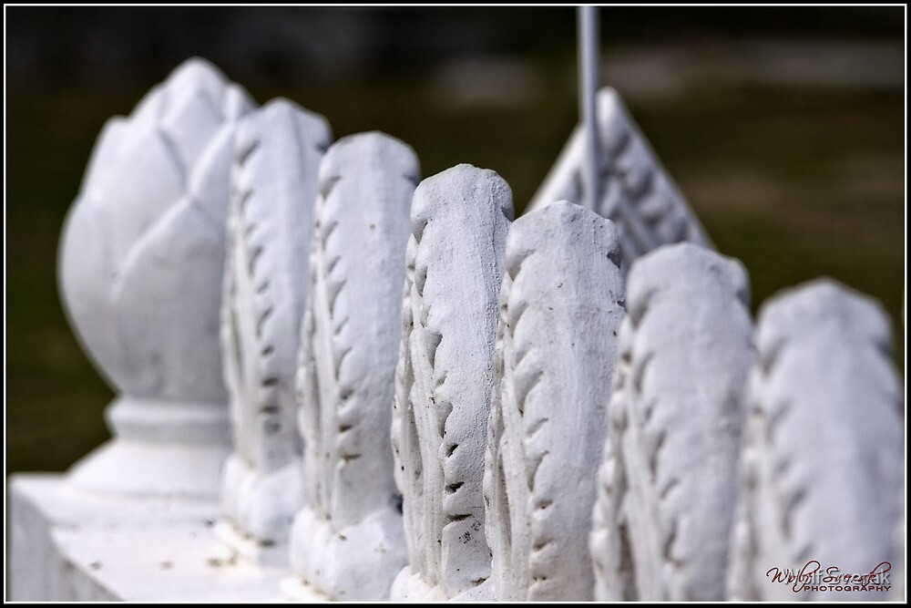 Enclosure at a Buddhist Temple by Wolf Sverak