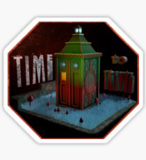 Time Machine Sticker