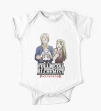 Fullmetal Alchemist Parenthood One Piece - Short Sleeve